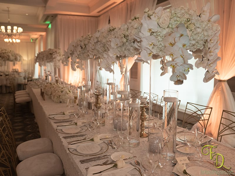 Royal Table wedding in Coral Gables Riviera Country Club