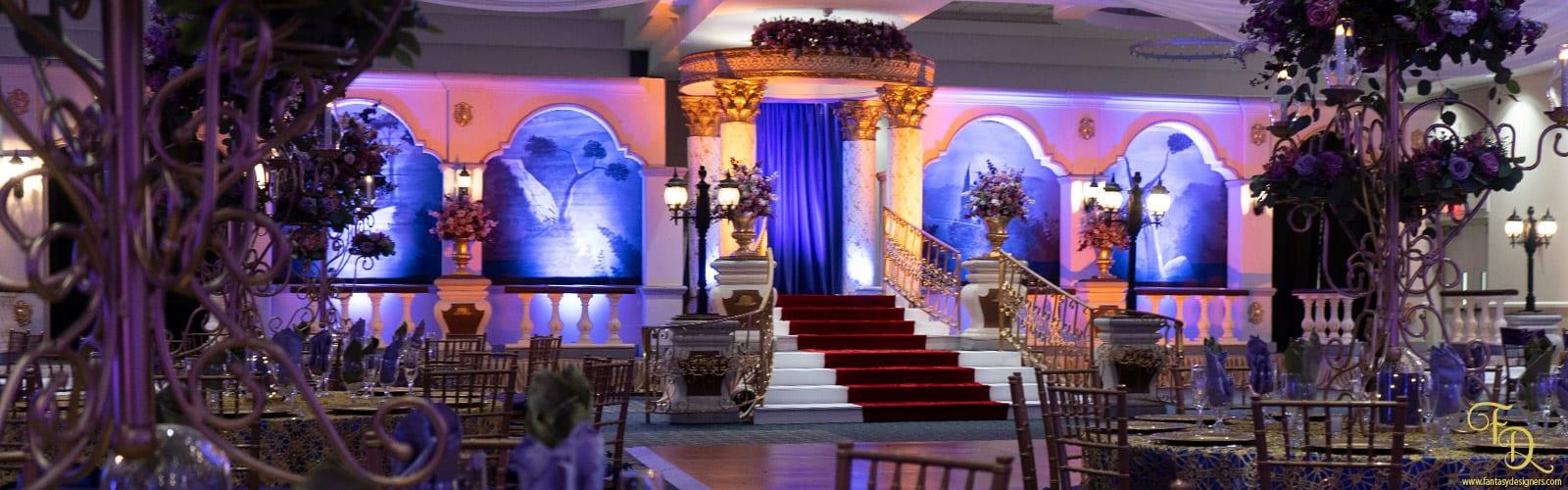 wedding Decorations stage miami fantasy designers