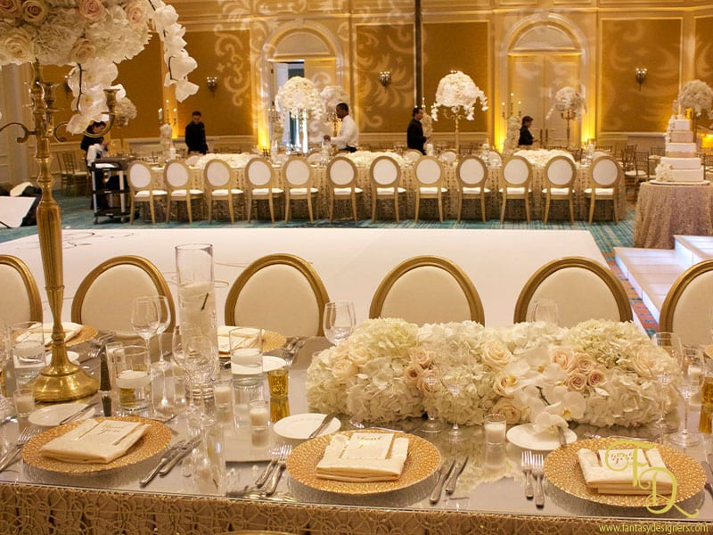 Ritz Carlton - Wedding Flowers
