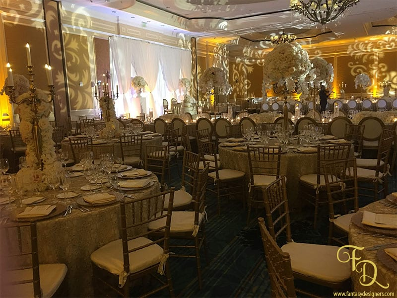 Ritz Carlton Wedding Coconut Grove Lighting Decor Centerpieces Room Lighting