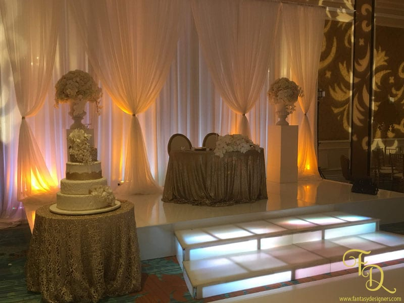 Ritz-Carlton Wedding Coconut Grove Decor