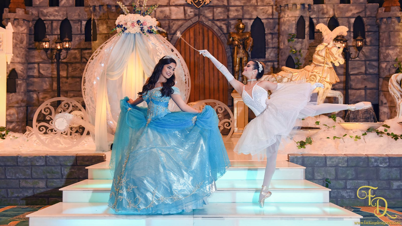 Cinderella-quinces-event-decorations-stage