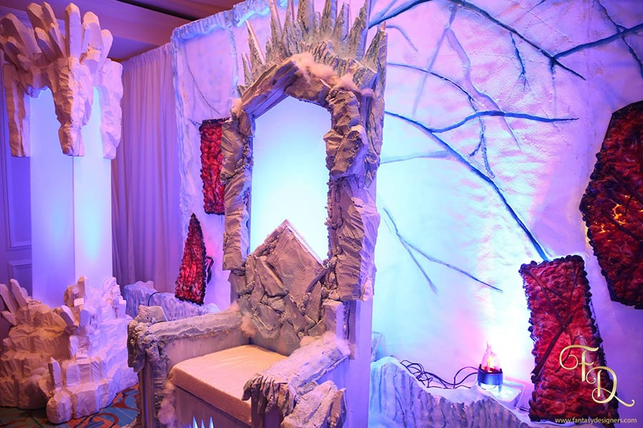 Fire-and-Ice-theme-event-throne-chair