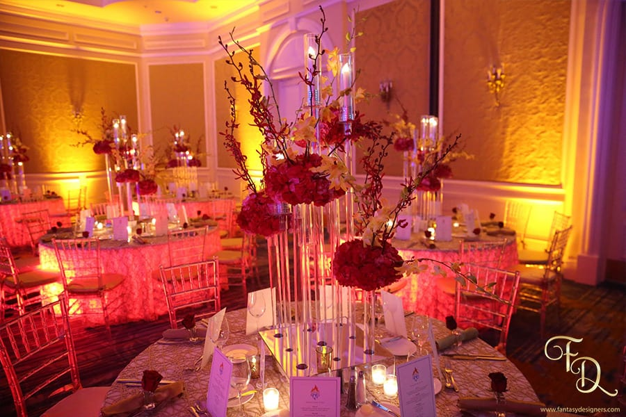 Fire-and-Ice-themed-event-center-pieces