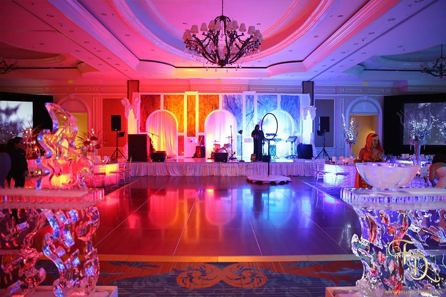 Fire-and-Ice-themed-event-stage