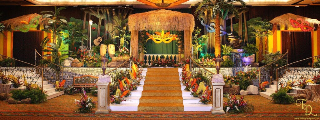 caribbean prom homecoming event theme