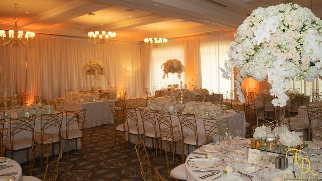 wedding Decorations coral gables flowers reception