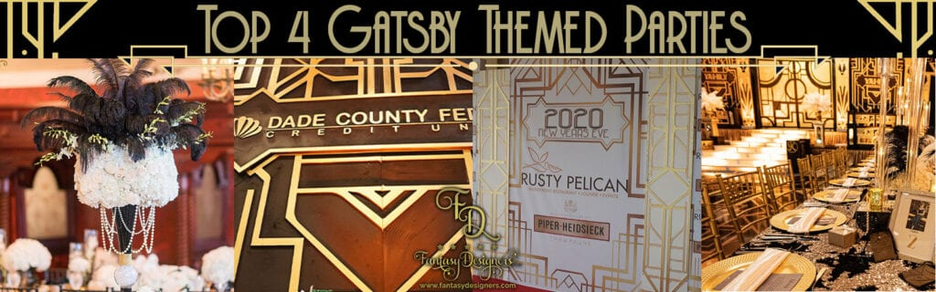 Top 4 Gatsby themed parties
