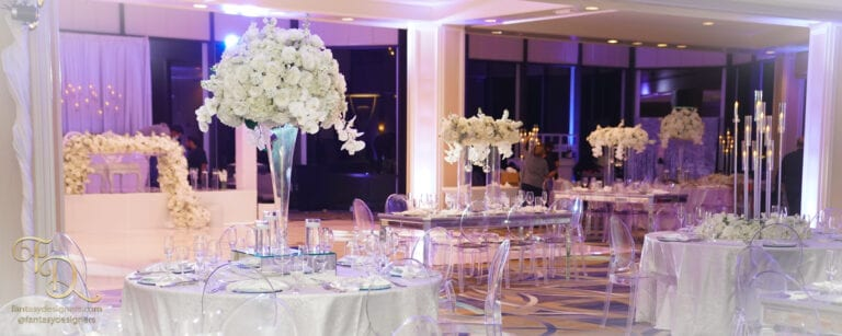 intercontinental wedding modern decoration